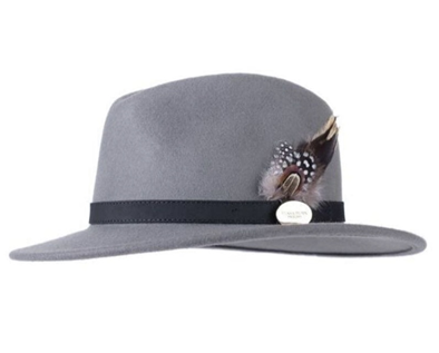 Hicks & Brown Grey Suffolk Fedora